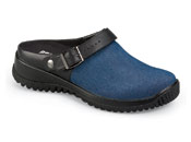 Savannah Denim Blue Clog
