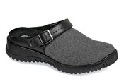 Savannah Grey Flannel Clog