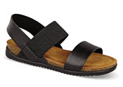 Champion Black Strap Sandal