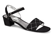 Allana Black Dress Sandal