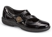 Dixie Black Patent Mary Jane