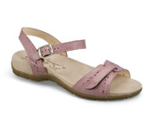Janice Rose Two-Strap Sandal