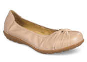 Tetbury Beige Dress Flat