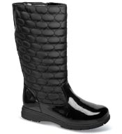 "Paris Black 12"" Side-Zip Boot"