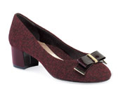 Tacita Sassafras Tweed Pump