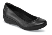 Veeda Oleena Black Wedge