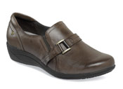 Charming Oleena Brown Slip-on