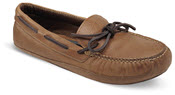Totsie Tan Moccasin Slipper