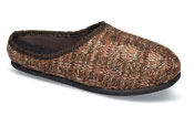 Noreen Rust Knit Slide Slipper