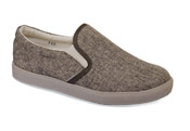 Anne Brown Canvas Slip On