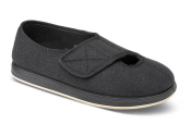 Kendale Black Wooly Slipper