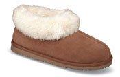 Janelli Hickory Pile Lined Slipper