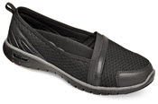Travellite Slip-on Black Mesh
