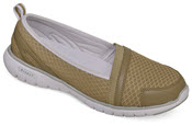 Travellite Slip-on Taupe Mesh