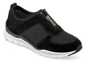 Fly Black Front Zip Sport Shoe