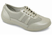Julie Beige Leather Sneaker