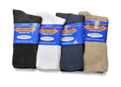 Extra Wide Medical Crew Socks