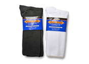 Extra Wide Athletic Crew Socks