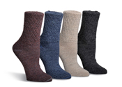 Silky Wool/Silk Lightweight Socks