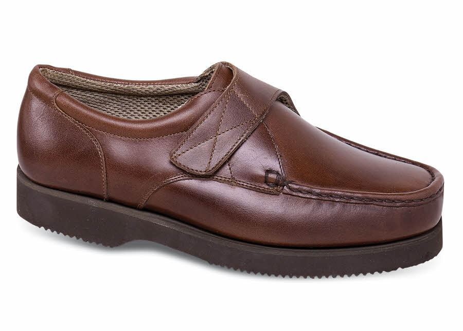 Brown Strap Moccasin