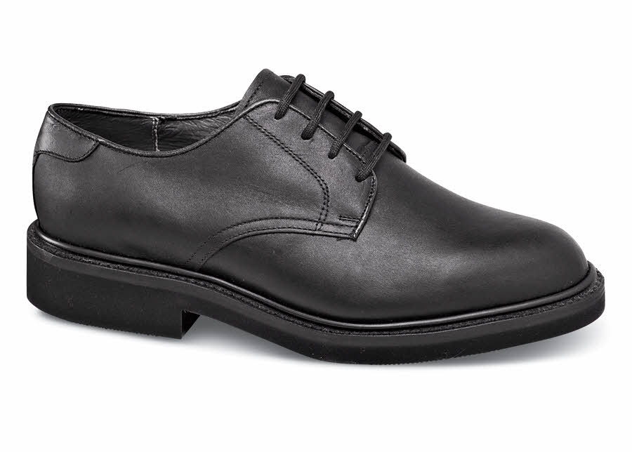 Black Oiled Madison Oxford