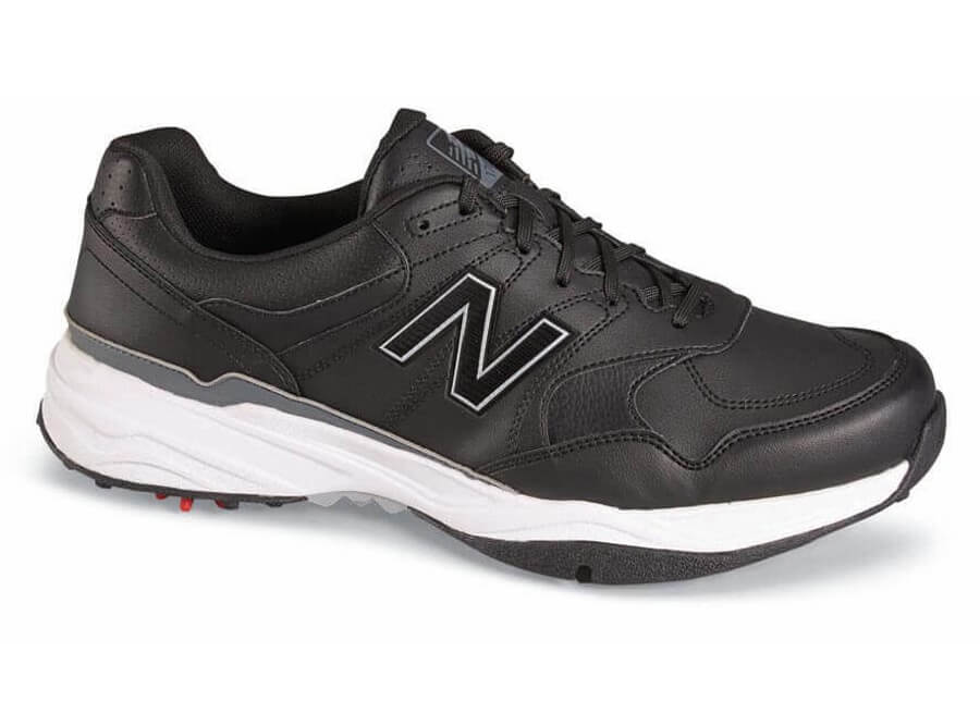 Black Waterproof Golf Shoe