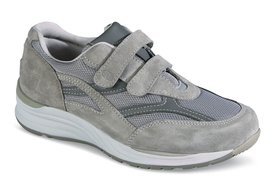 Grey JV Mesh Strap Shoe