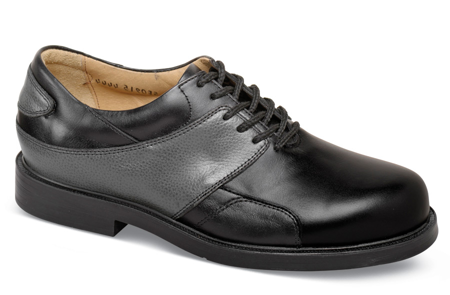 Black/grey Golf Shoe