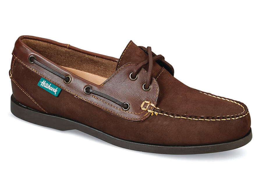 Brown Nubuck/Leather Boat Shoe