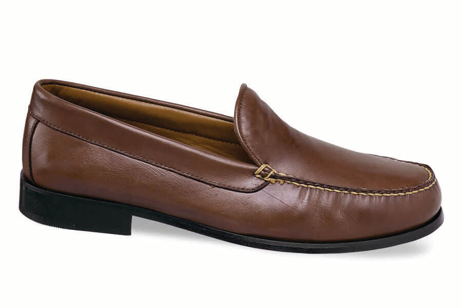 Brown Softie Venetian Loafer