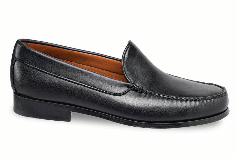Black Softie Venetian Loafer