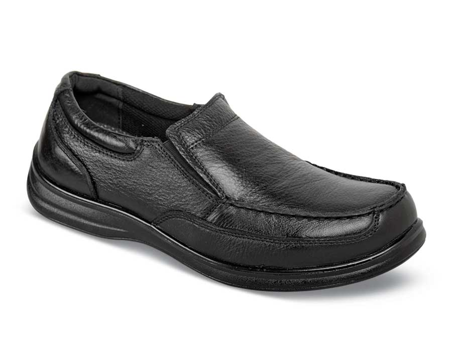 Black Max Moc Slip-on