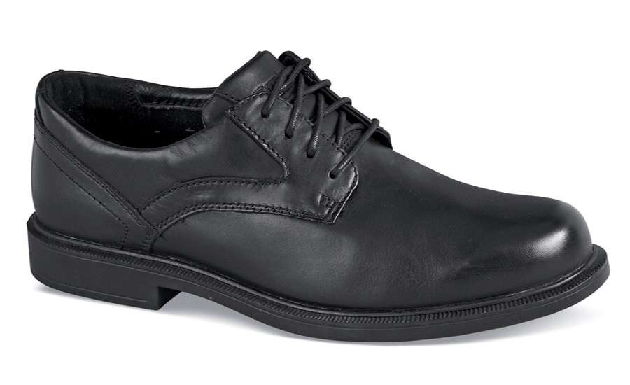 Black Smooth Jericho Oxford