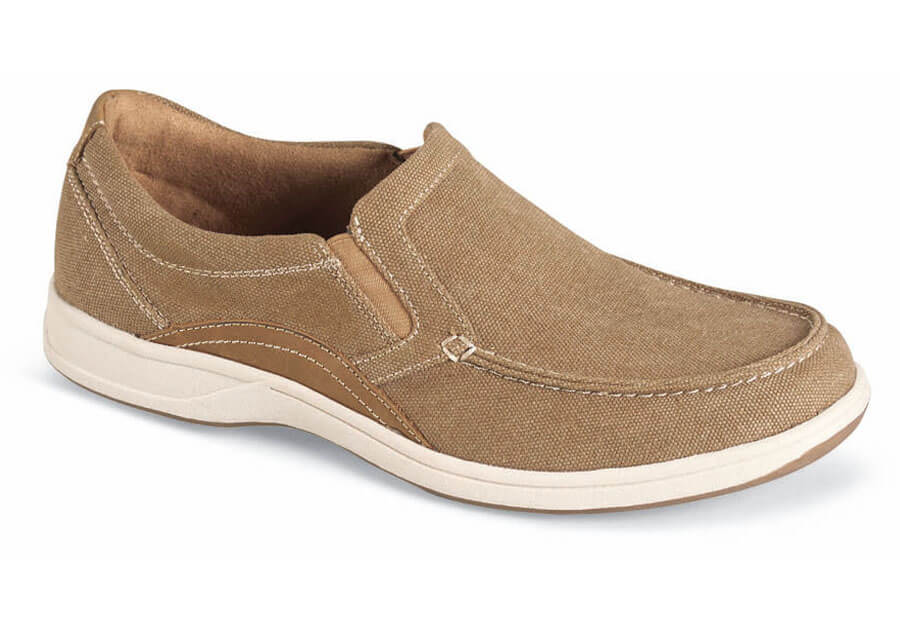 Sand Canvas Lakeside Slip-on