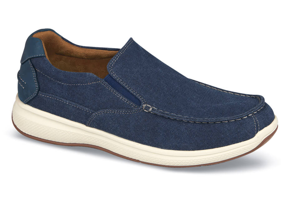 Navy Canvas Great Lakes Slip-on