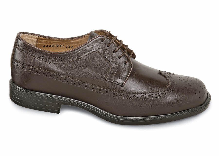 Brown Long Wing XD Oxford