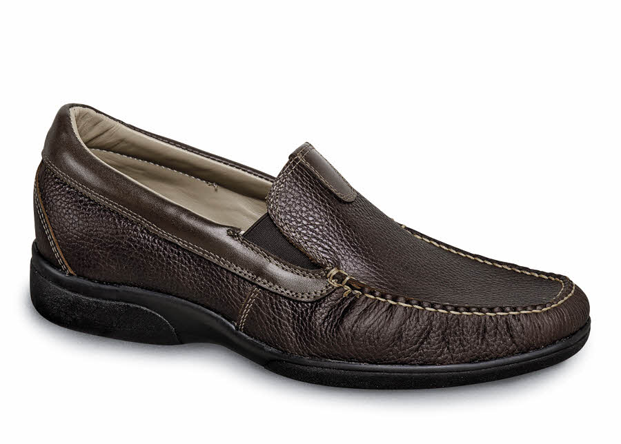 Brown Slip-on XD Casual Moc