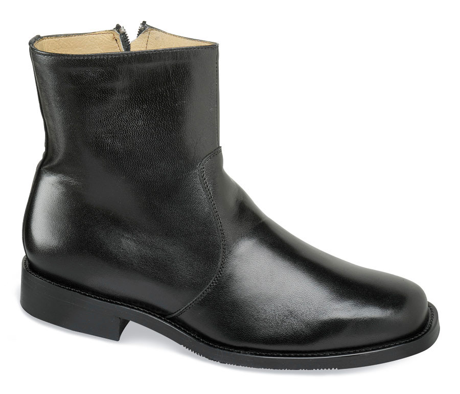Black Mestizo KentXD Zip Boot