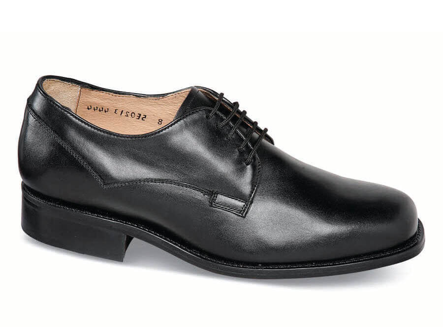 Black Leather Sole Xd Oxford Hitchcock Wide Shoes