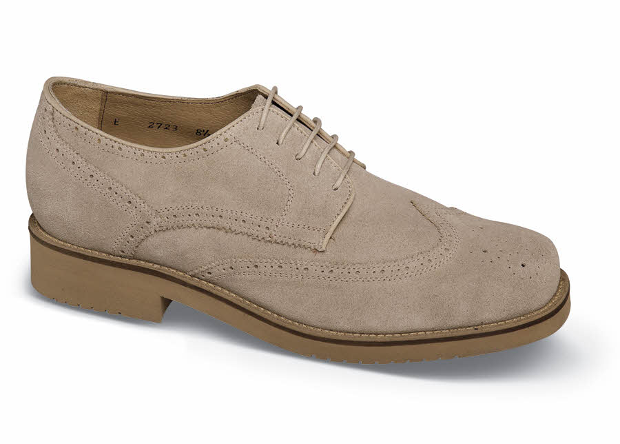Sand Suede XD Wing-Tip Oxford
