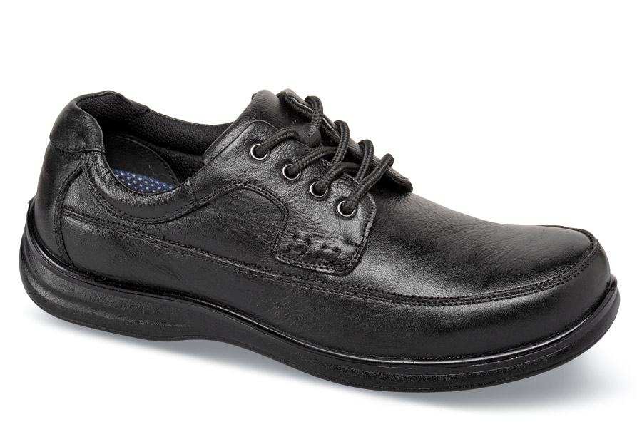 Black Mo Moc Oxford