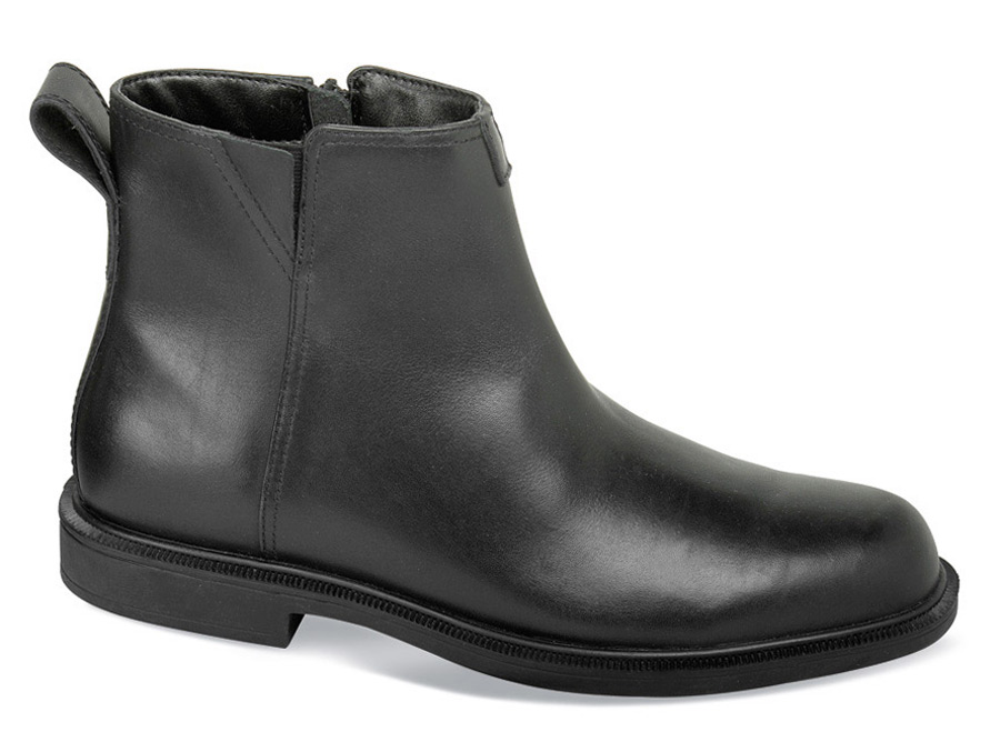Black James Thinsulate Zip Boot