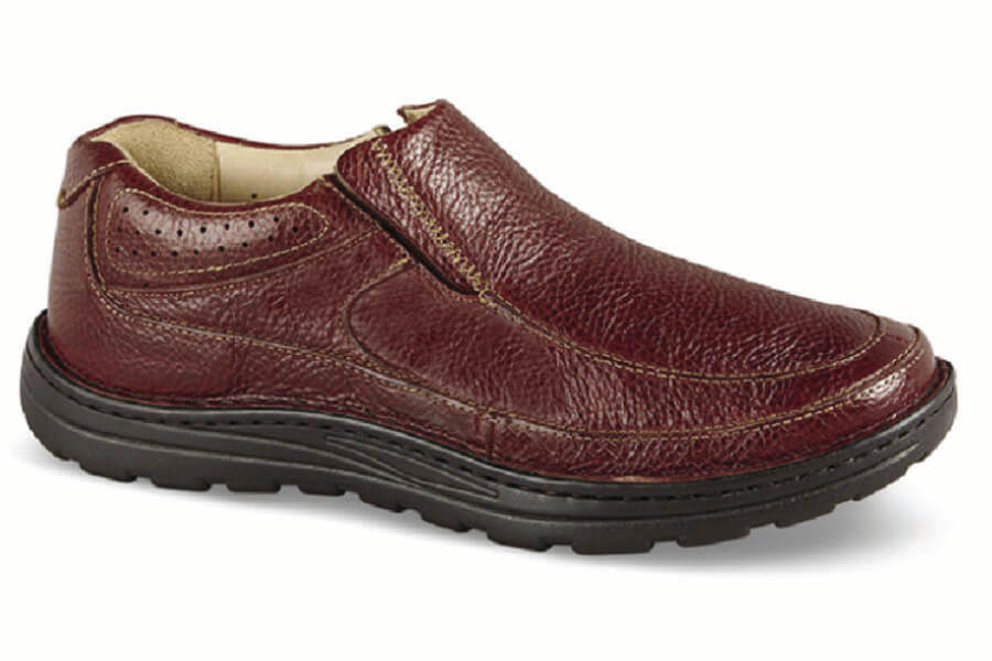 Brown Pebbled Bexley II Slip-On