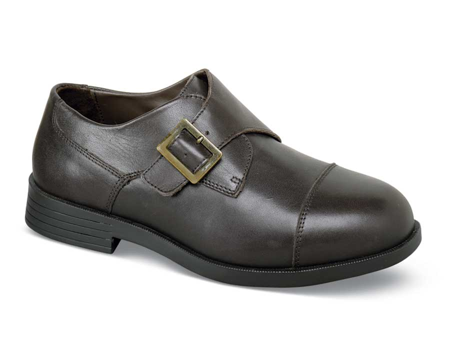 Brown Canton Monk Strap