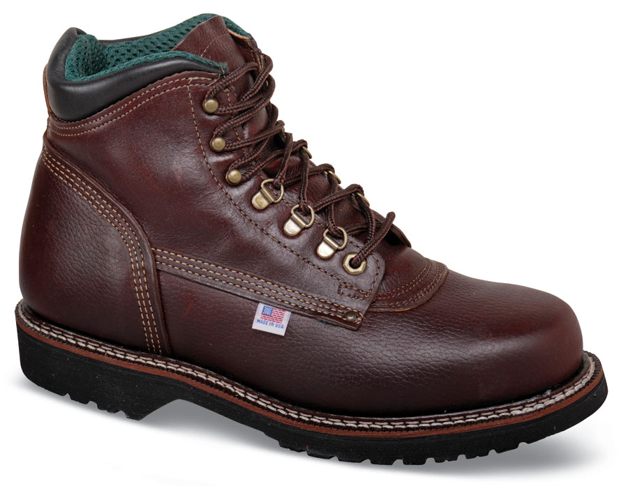 Brown 6-inch Work Boot