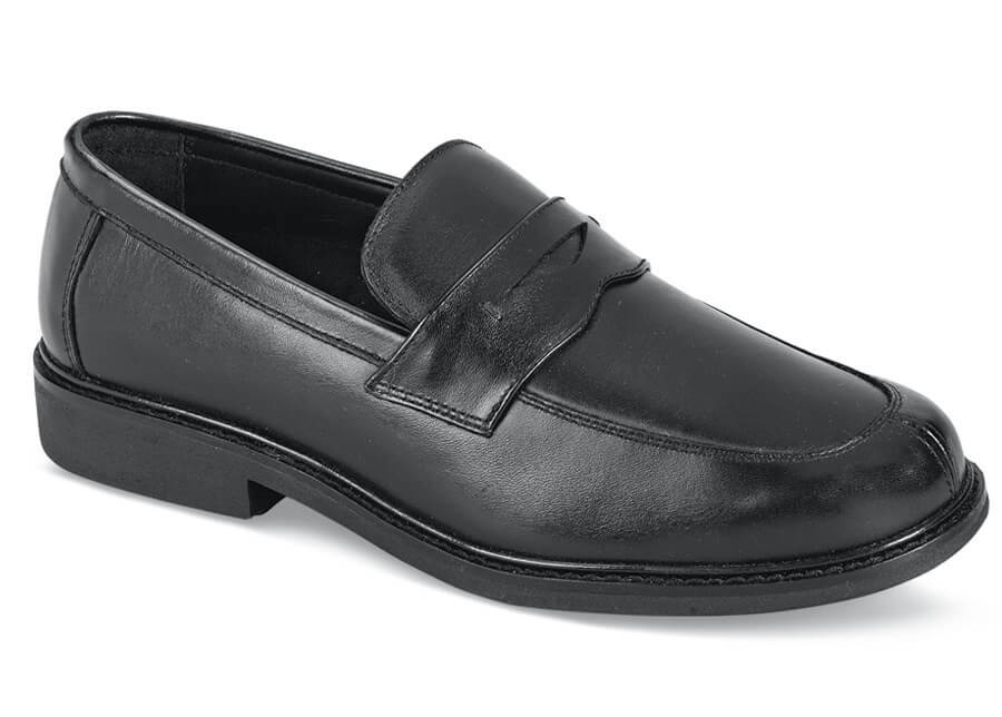 Black Essex Penny Loafer