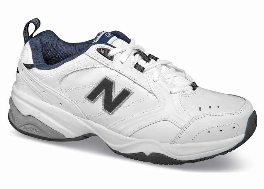 White/navy 624 Trainer