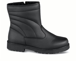 Black Abe Lined Winter Boot