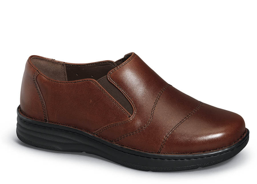 Brandy Leather Fairfield Slip-on