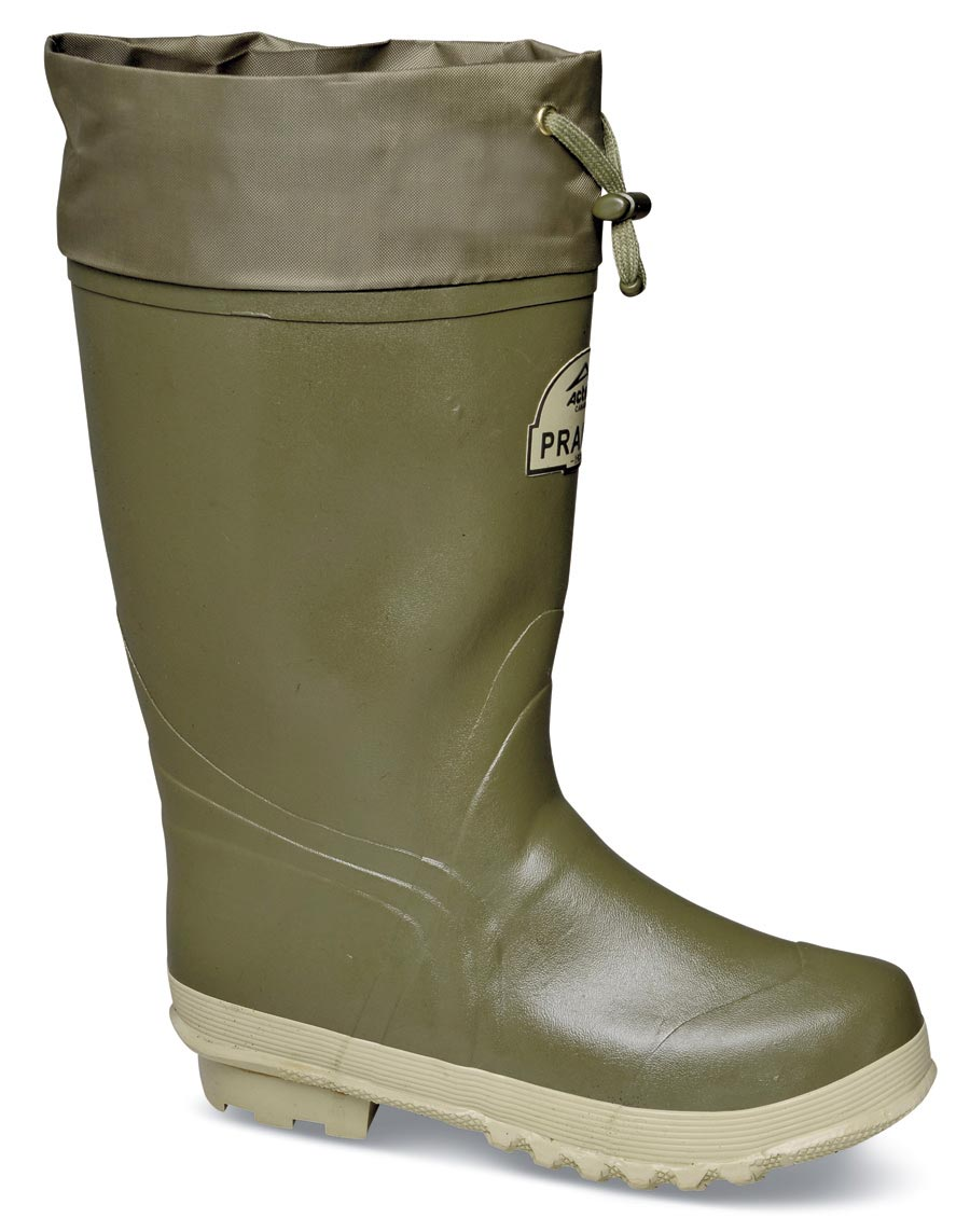 Green 14-inch Rubber Boot